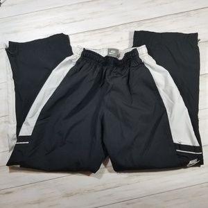 Nike Black & White Athletic Pants 8